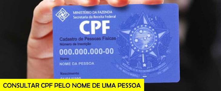 Consultar CPF Pelo Nome e Data de Nascimento