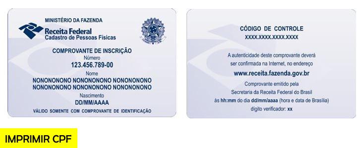 Como Imprimir CPF 1 e 2º Via Pela Internet - Consultar CPF